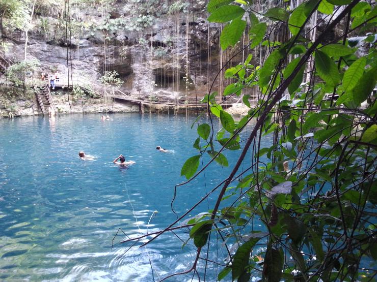 Visitando Ek'Balam en Yucatán