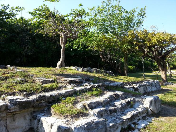 El Mundo Maya en Cancún : Zona arqueológica El Rey.