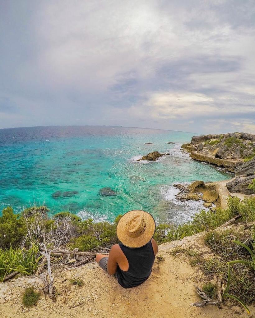 Isla Mujeres de Playa Norte a Punta Sur